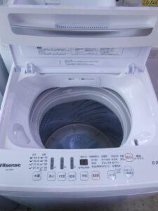 6キロの全自動洗濯機