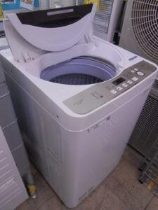 シャープ製。6k。洗濯機