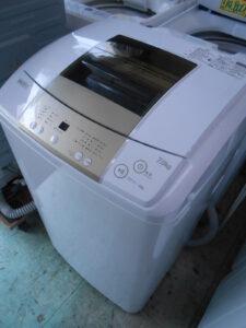 7キロタイプの洗濯機。