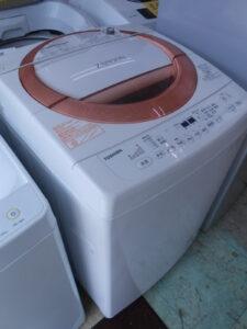 東芝製。洗濯機です。
